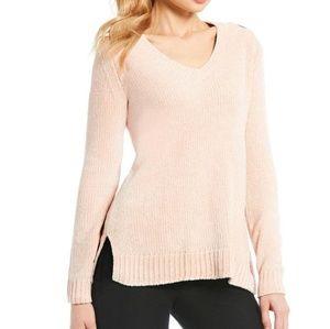 Michael Michael Kors pink chenille sweater